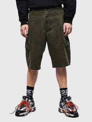 D-KRETT-SHORT JOGGJEANS, Military Green - Shorts