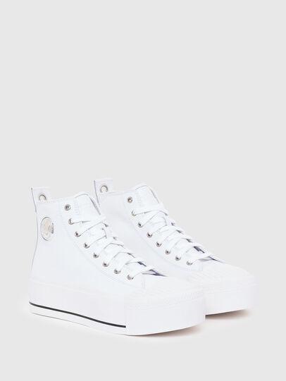 Diesel - S-ASTICO MC WEDGE, White - Sneakers - Image 2