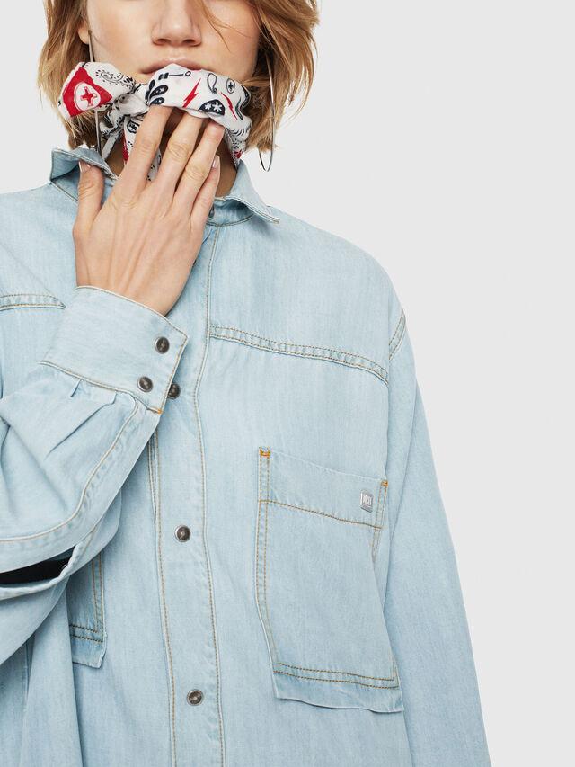 Diesel - DE-SUP, Blue Jeans - Dresses - Image 3