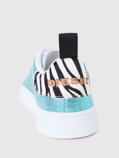 Diesel - S-CLEVER LOW LACE W, Azure - Sneakers - Image 4