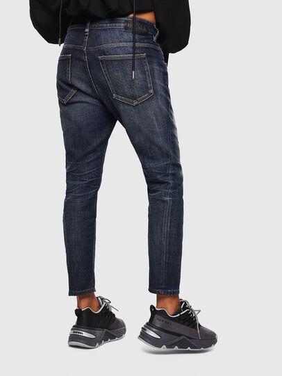 Diesel - Fayza 0096U, Dark Blue - Jeans - Image 2