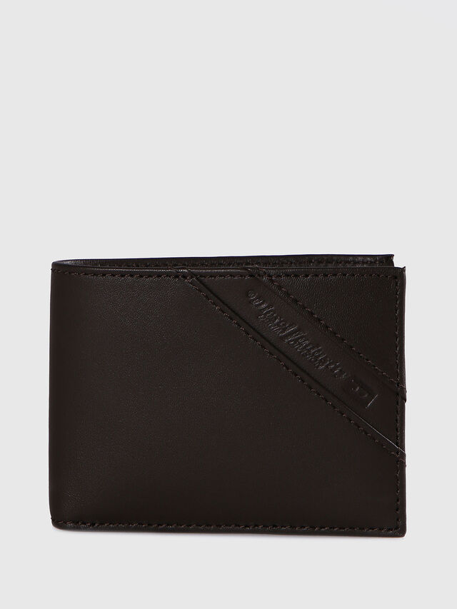 Diesel HIRESH XS, Dark Brown - Small Wallets - Image 1