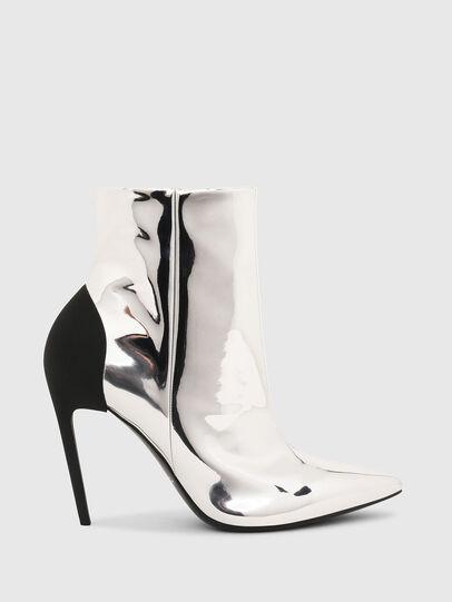 Diesel - D-SLANTY HABZ, Silver - Ankle Boots - Image 1