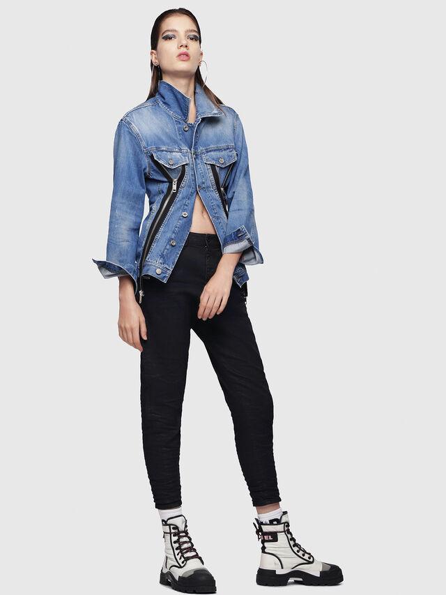 Diesel - Candys JoggJeans 0688U, Dark Blue - Jeans - Image 4