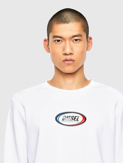 Diesel - S-GIRK-N85, White - Sweaters - Image 3