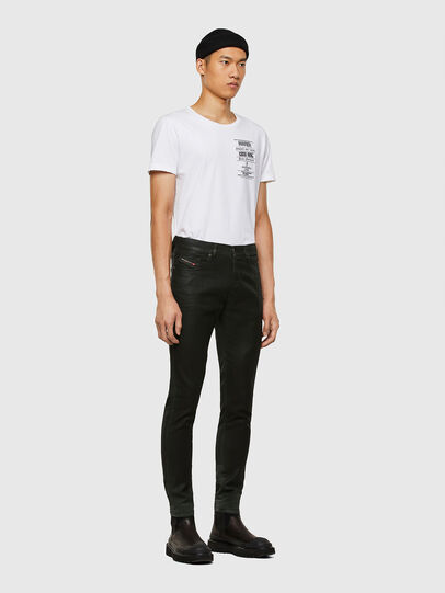 Diesel - D-Strukt JoggJeans® 069QX, Black/Green - Jeans - Image 6