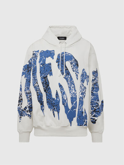 Diesel - S-ALBY-X3, White - Sweaters - Image 1