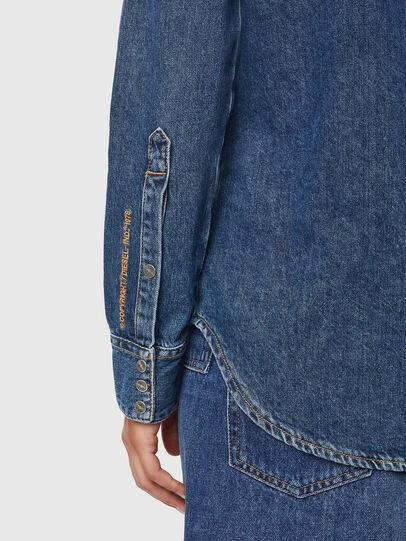 Diesel - DE-RINGY, Dark Blue - Denim Shirts - Image 4