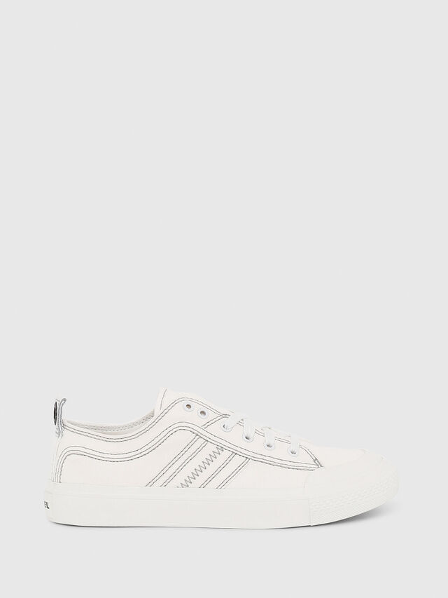 Diesel - S-ASTICO LOW LACE W, White - Sneakers - Image 1