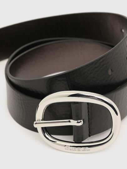 Diesel - B-ISIDE, Black/Grey - Belts - Image 2