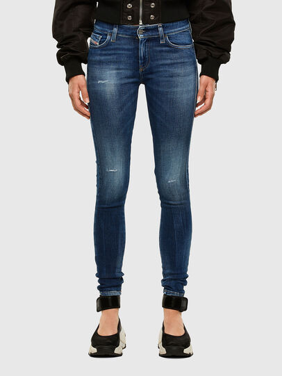 Diesel - Slandy 009CX, Medium blue - Jeans - Image 1