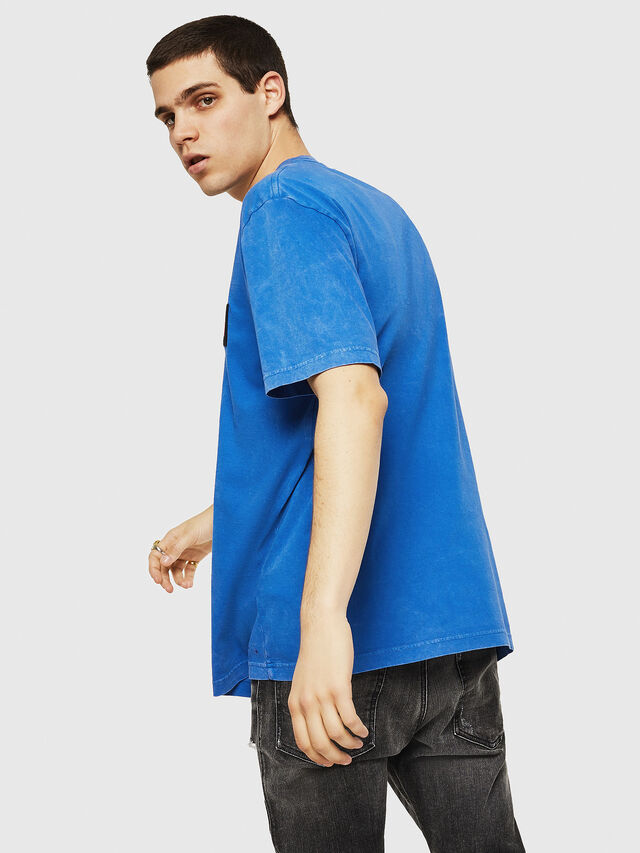 Diesel - T-JUST-Y18, Blue - T-Shirts - Image 2