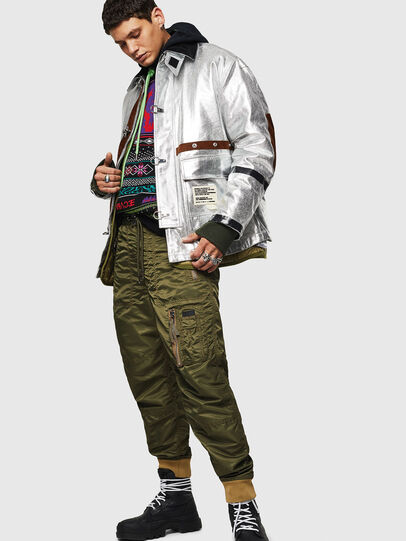 Diesel - P-LEVOKI, Military Green - Pants - Image 6