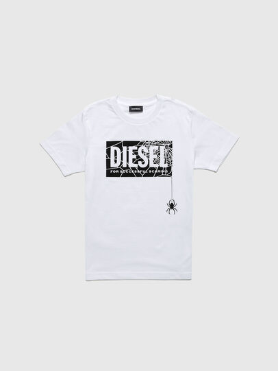 Diesel - TWEEN-TSE, White - T-shirts and Tops - Image 1