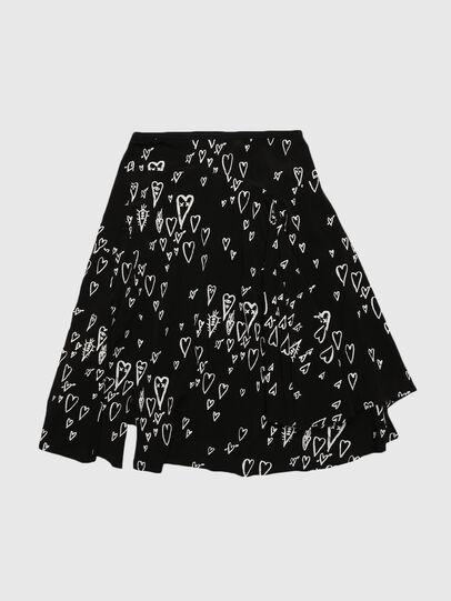 Diesel - GYSPRING, Black - Skirts - Image 1
