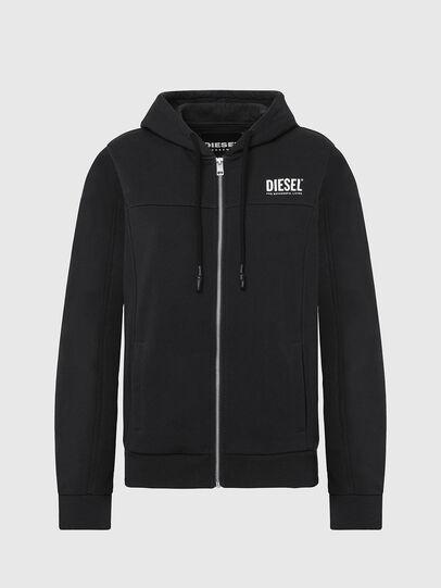 Diesel - UFLT-VICTORIAL-HZ, Black - Sweaters - Image 1