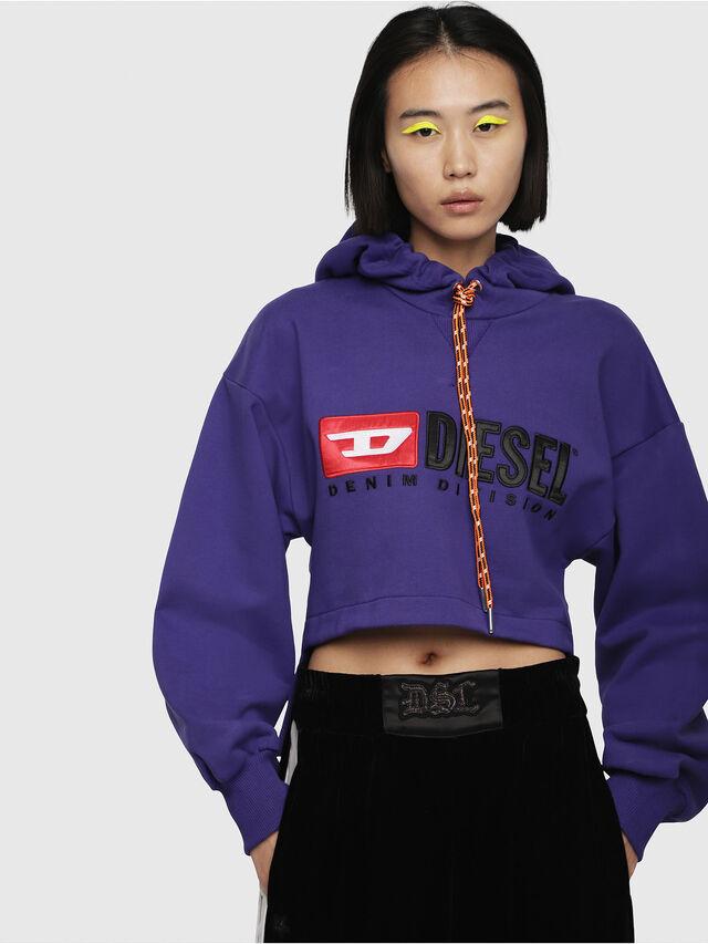 Diesel - F-DINIE-A, Violet - Sweaters - Image 1