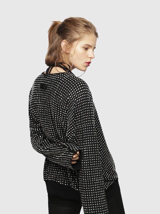 Diesel - F-NEW, Black - Sweaters - Image 2