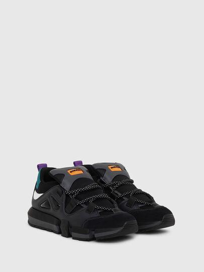 Diesel - H-PADOLA LOW S, Black - Sneakers - Image 2