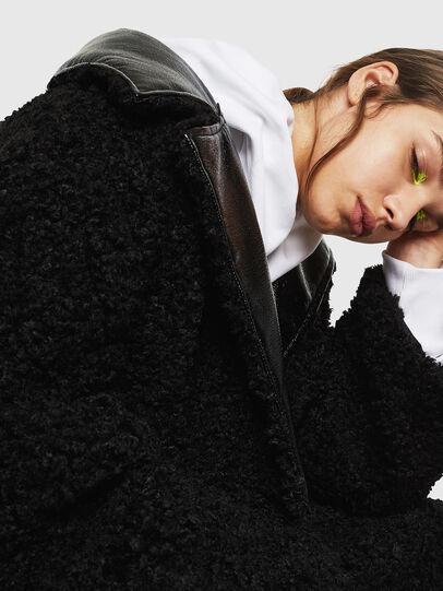 Diesel - L-ASC, Black - Leather jackets - Image 5