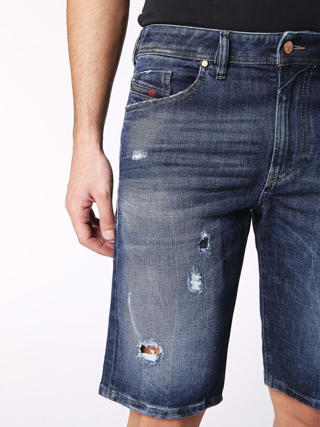 Diesel - THOSHORT, Blue Jeans - Shorts - Image 6