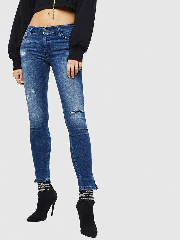 Slandy Zip 089AI, Medium blue - Jeans