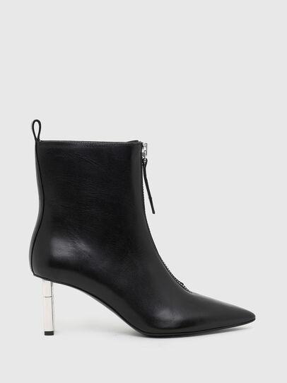 Diesel - D-LEZIPPO MAB, Black/Silver - Ankle Boots - Image 1