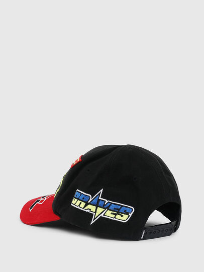 Diesel - ASTARS-CAP, Black/Red - Caps - Image 2