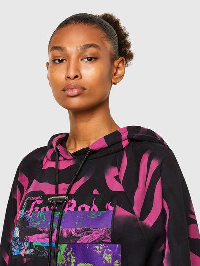 Diesel - F-BIORG, Black/Pink - Sweaters - Image 3