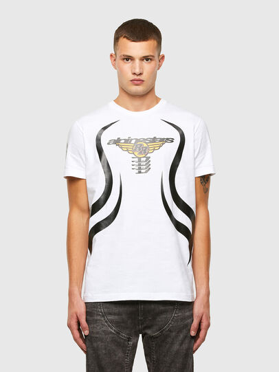 Diesel - ASTARS-T-DIEGOS-A, White - T-Shirts - Image 1