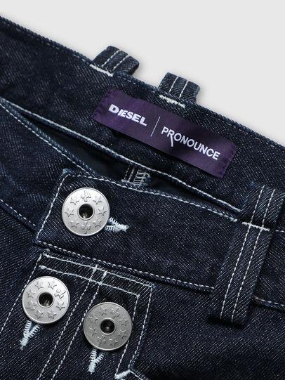 Diesel - PR-PT01A, Dark Blue - Shorts - Image 3