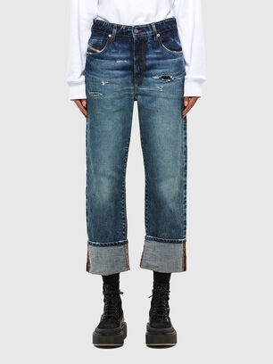 D-Reggy 0079P, Dark Blue - Jeans