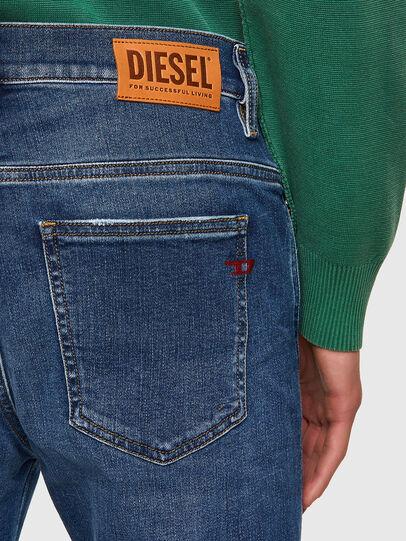 Diesel - D-Istort 009PU, Medium blue - Jeans - Image 4