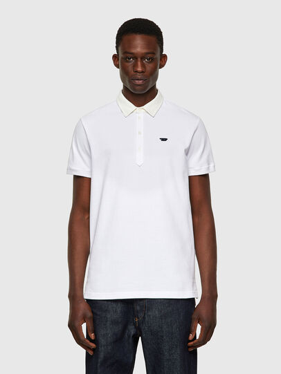 Diesel - T-MILES-NEW, White - Polos - Image 1