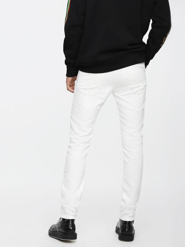 Diesel Thommer JoggJeans 0689X, White - Jeans - Image 2