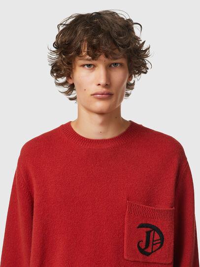 Diesel - K-BOSTON, Red - Knitwear - Image 3