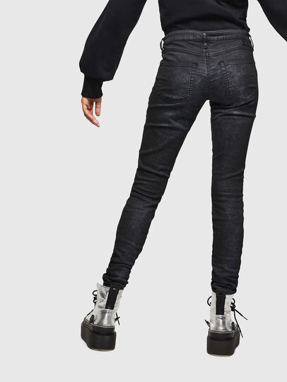 Diesel - Gracey JoggJeans 069GP, Black/Dark grey - Jeans - Image 2