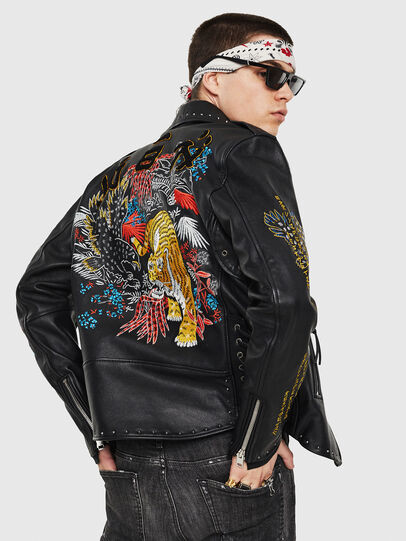 Diesel - L-JUNER,  - Leather jackets - Image 2
