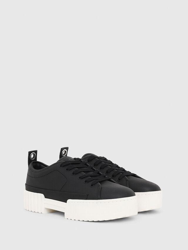 Diesel - S-MERLEY LC, Black - Sneakers - Image 2
