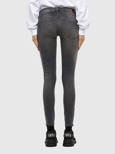 Diesel - Slandy Low 069MY, Black/Dark grey - Jeans - Image 2