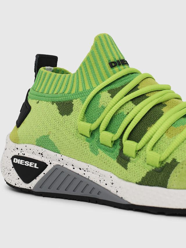 Diesel - S-KB SL W, Green Fluo - Sneakers - Image 4