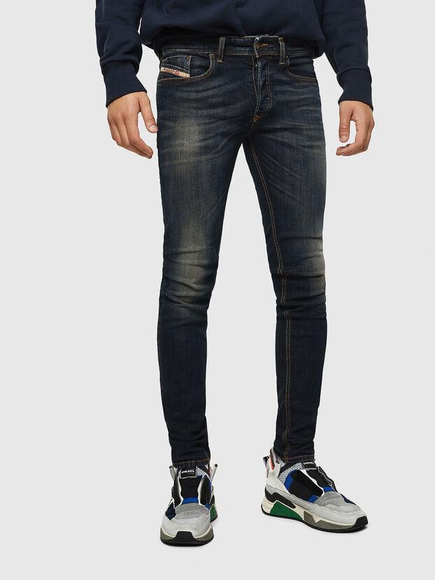 Sleenker 069FX, Dark Blue - Jeans