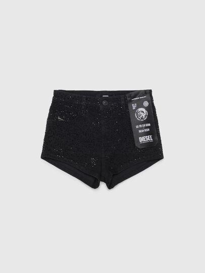 Diesel - PGINGHER, Black/Dark grey - Shorts - Image 1