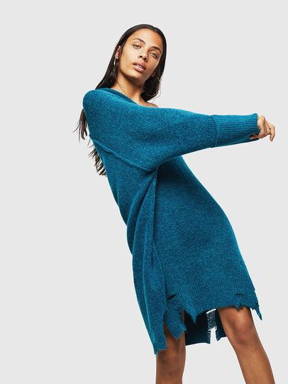 Diesel - M-NOELIA, Blue Marine - Knitwear - Image 4