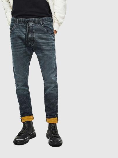 Diesel - Krooley JoggJeans 069MD, Dark Blue - Jeans - Image 3