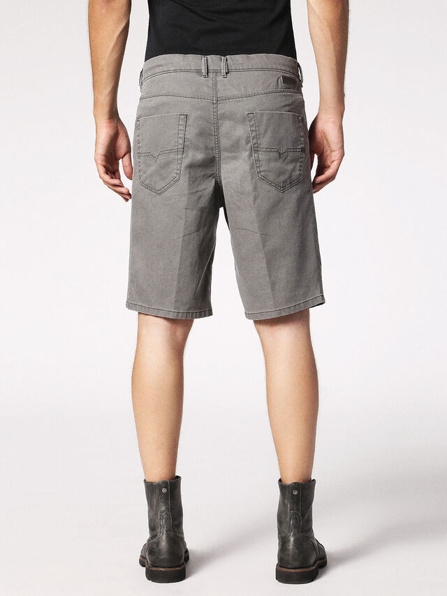 Diesel - CHINO-SHORT JOGGJEANS, Grey - Shorts - Image 2