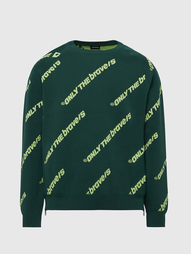 K-DAVIS, Dark Green - Knitwear