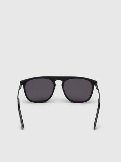 Diesel - DL0297, Black/Yellow - Sunglasses - Image 4