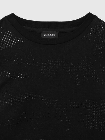 Diesel - TDARIAST, Black - T-shirts and Tops - Image 3