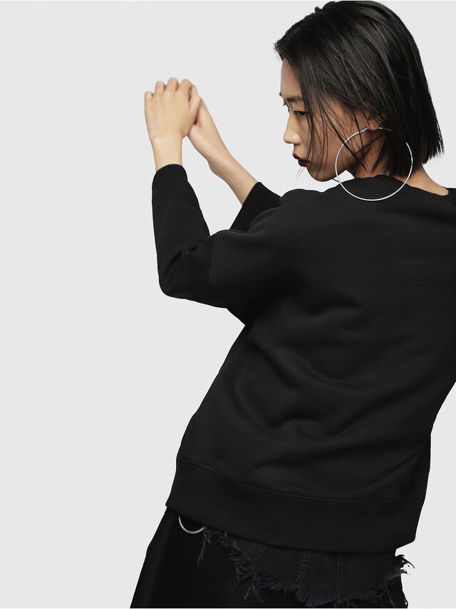 Diesel - F-GERTRUDE-NEW-A, Black - Sweaters - Image 2